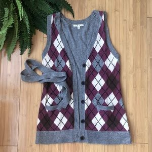 CABI | Argyle Sweater Vest